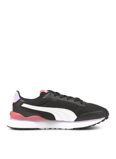 Puma Puma 37489606 Puma R78 FUTR Decon Siyah- Beyaz Kadın Lifestyle Ayakkabı Siyah
